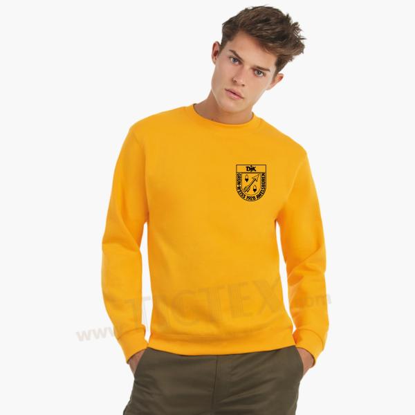 Sweatshirt Pullover Baumwolle inkl. Brustlogo