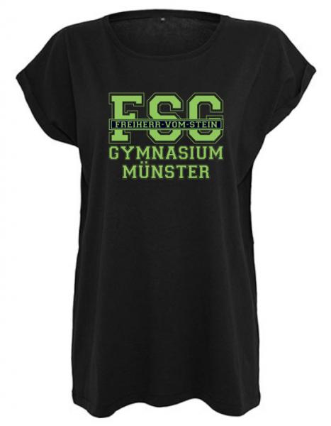 T-Shirt Mädchen FSG Schwarz