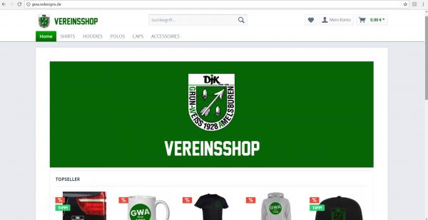Dein Vereinsshop - Klubshop - Fanshop