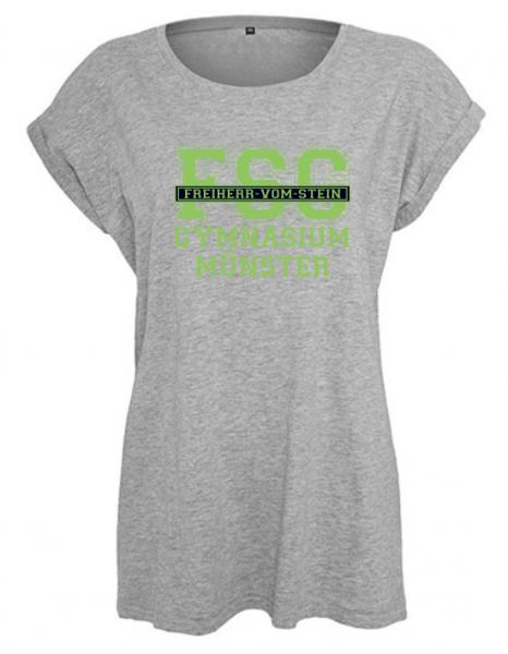 T-Shirt Mädchen FSG Grau